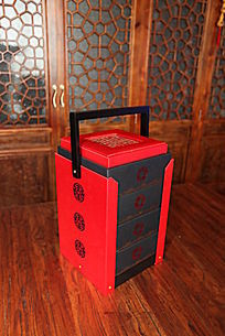 中秋的月饼礼盒展示