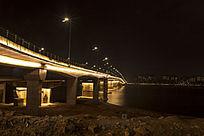 南昌大桥夜景