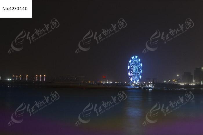 南昌赣江夜景图片