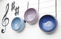 创意音乐陶瓷杯
