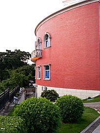 海上花园酒店圆形外墙