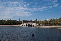 水上公园石拱桥