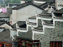 凤凰古城古老建筑外观图片