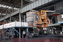 包钢炼钢车间精练炉