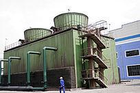 包钢生产厂区一角