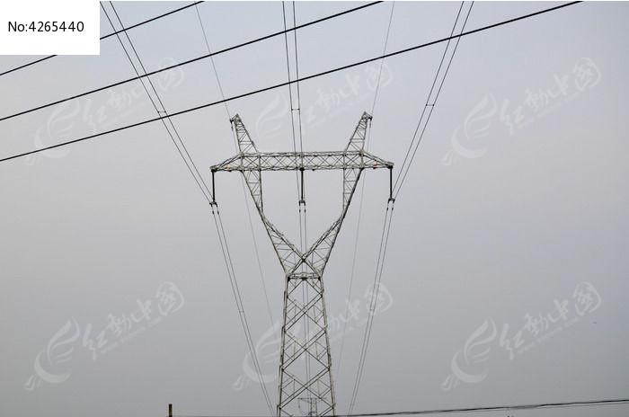 高压线图片,高清大图_工业生产素材