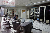 炼钢车间控制室