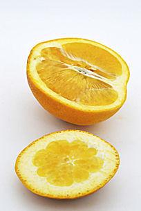 半个橙子和皮