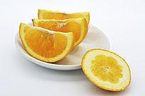 橙子瓣和皮