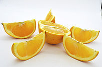 橙子瓣造型