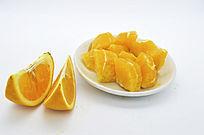 橙子块和瓣