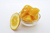 橙子肉和皮