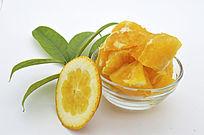 橙子叶肉皮