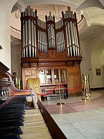 国内最大风琴陈列