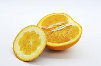 横切橙子和皮