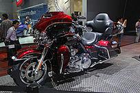 红色豪华摩托