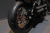 越野摩托后轮