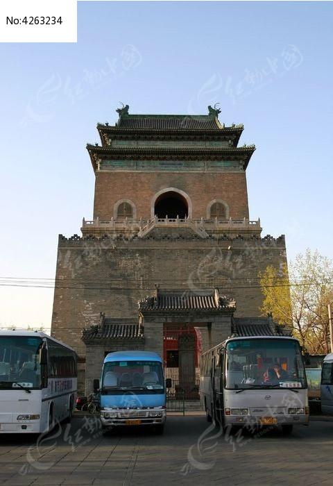 北京钟楼图片,高清大图