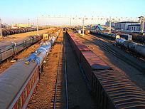 满洲里国际货运列车