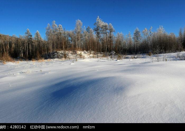 原创摄影图 自然风景 森林树林 大兴安岭林海雪原  请您分享: 素材