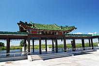 扎龙自然保护区观鹤台