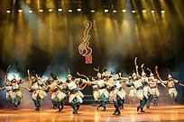 大型蒙古民族乐舞史诗《蒙古风》