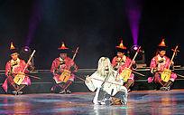 《蒙古风》民族乐舞史诗马头琴演奏