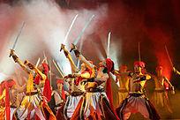 民族乐舞史诗《蒙古风》马刀舞