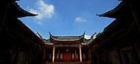 万科棠樾徽派老房子戏台