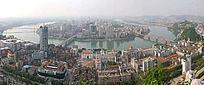 柳州全景图