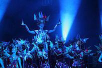 民族乐舞史诗《蒙古风》圣灯舞