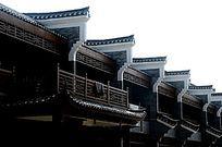 桂林杨堤古镇建筑外观特写图片