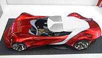 红色创意车模