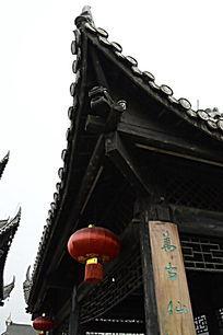 湖南湘西乾州古城吊脚楼