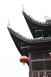 湖南湘西乾州古城吊脚楼图片