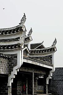 湖南湘西乾州古城古建筑图片