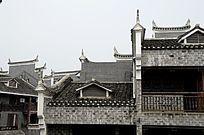 湖南湘西乾州古城古老建筑图片