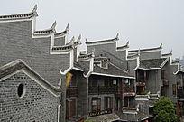 湖南湘西乾州古城建筑图