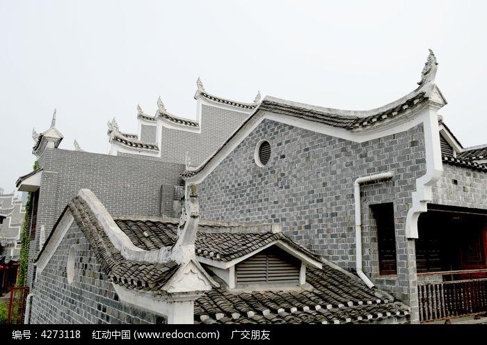 湖南湘西乾州古城建筑图片图片