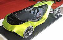 绿色概念车模
