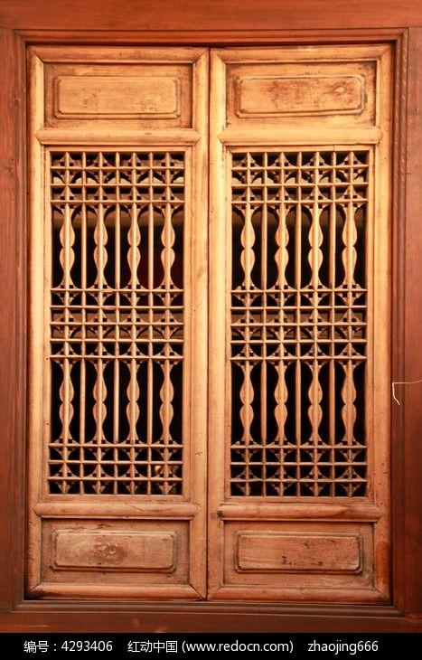 木雕中式仿古门窗图片图片