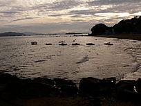日光岩的海边