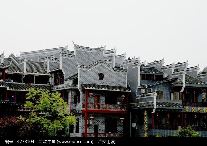 湘西乾州古城古建筑特写图片图片