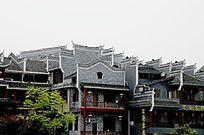 湘西乾州古城古建筑特写图片