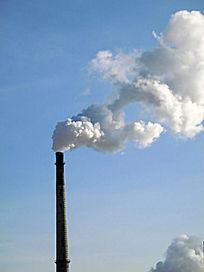 烟囱排放污染