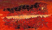 印象风景油画