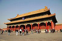 北京故宫紫禁城保和殿