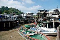 大屿山渔村的交通工具