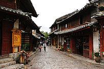 丽江小巷景观