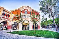 天津五大道风景-欧式建筑